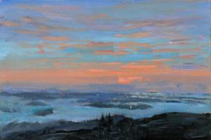 Cadillac Mountain Sunrise, 5:15 am