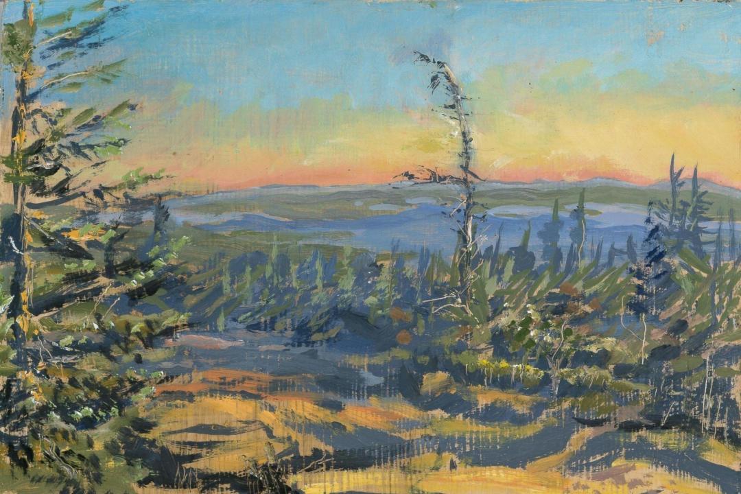 Painting Greg Lecker Artist Naturalist