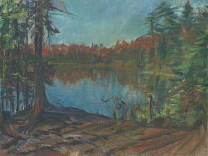 Lake Agnes Morning