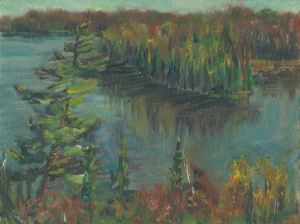 Lake Agnes Overlook