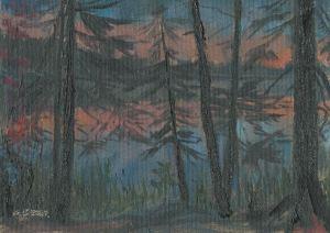 Lake Agnes Twilight