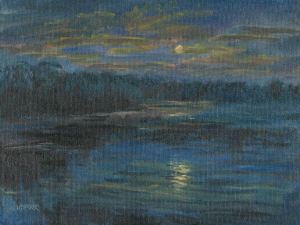 Wirth Lake Moon