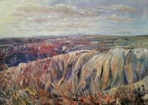 First Overlook of Badlands