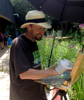 Painting at Westwood Nature Center