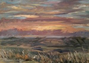 Pinnacles Sunset
