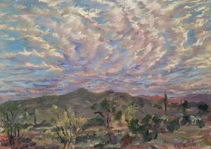 Apache Wash Clouds