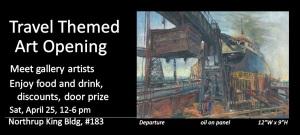 Art Opening - April 25, 2015