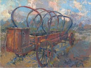 Covered Wagon Top Down