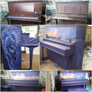 My submission for Pianos On Parade - Day One progress