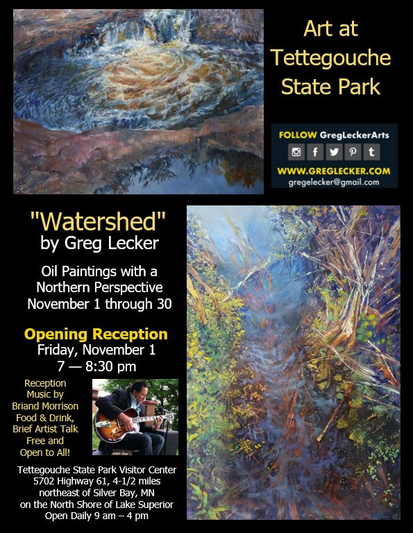 Watershed - Art at Tettegouche State Park November 1