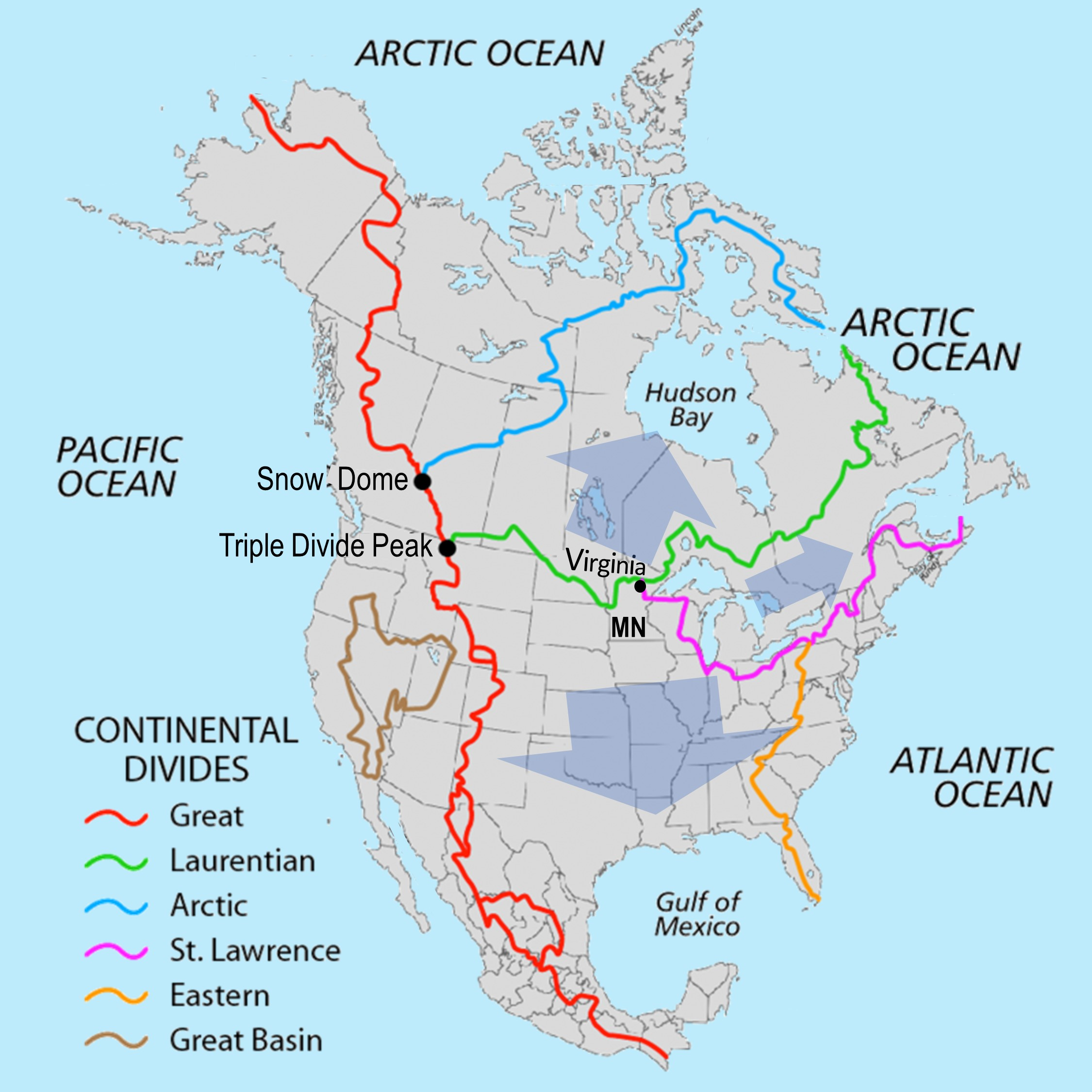 Watersheds Map Original
